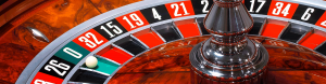 Roulette table at Casino Party Planners