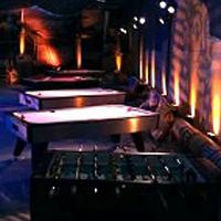 hockey tables at casino fundraising event