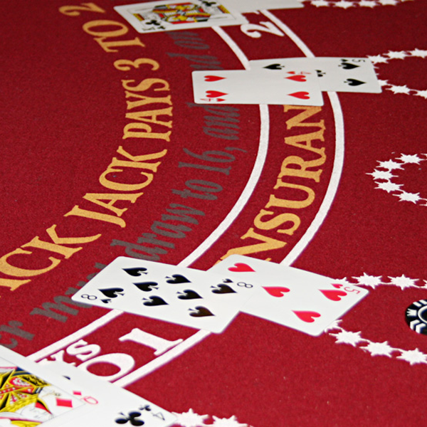 Blackjack in fun to play at parties in Illinois