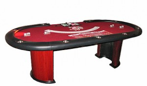 casino game poker table
