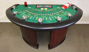 Casino Party Game Table Rental in Illinois
